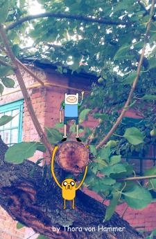 Adventure Time =) Обработка фото№2