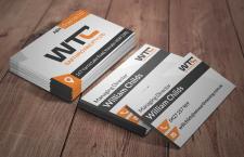 WTC business card design concept