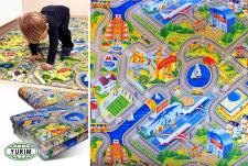 Дизайн детского коврика. Авторская иллюстрация