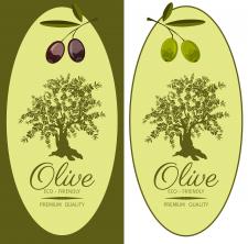 Этикетки для оливкового масла.