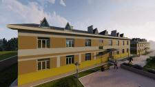 Проектування та візуалізація будівлі казарми