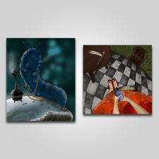 """Иллюстрация к """"Алиса в стране чудес"""""""