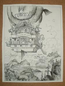 иллюстрация дирижабль
