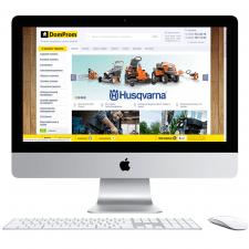 Интернет-магазин «DomProm» (Самописная CMS)
