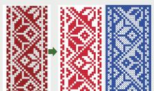 Орнамент, отрисовка в вектор
