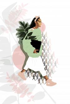 Fashion илюстрация