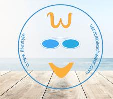 Логотип для бутіка пляжного одягу Венеція