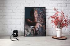 "Дизайн Постера ""Unformal Portrait Wall Poster"""