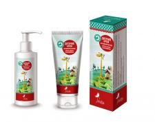 Дизайн упаковки детского крема