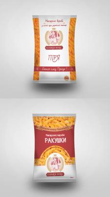 Дизайн упаковки макарон
