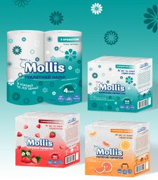 Серия упаковок для бумажной продукции
