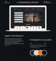 UI/UX design for e-commerce