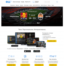 WEB site oll.tv