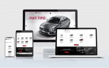 Сайт-каталог автосалону Fiat г. Ровно