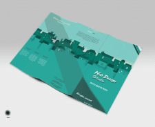 Буклет веб-дизайн студии