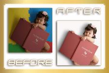Обработка изображения с ребёнком