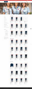 Сайт-магазин Jeansa