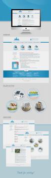 Дизайн сайта для компании по строительств водоемов