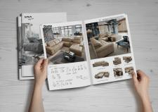 верстка каталога, мебель