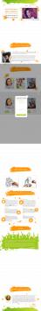 Верстка Landing page и натяжка на Joomla