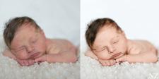 Ретушь новорожденных
