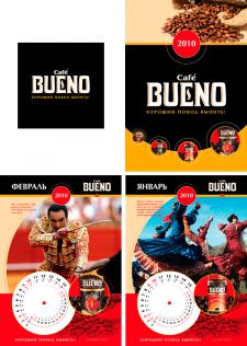 Кофе Bueno календарь (2011)