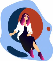 Flat illustration