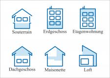 Иконки для сайта продажи квартир в Германии