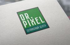 "Логотип сервисного центра ""Dr. Pixel"""