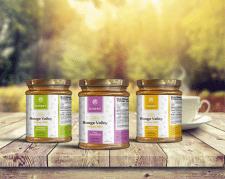 Этикетка для баночек мёда