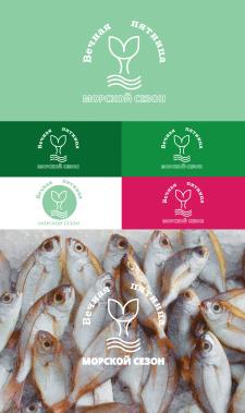 Логотип для рыбного магазина