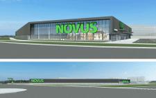 Проект ТЦ NOVUS общей площадью 6400 кв.м.