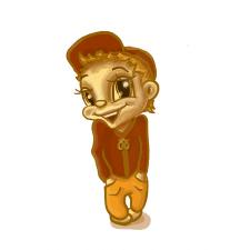 Рогалик-мальчишка