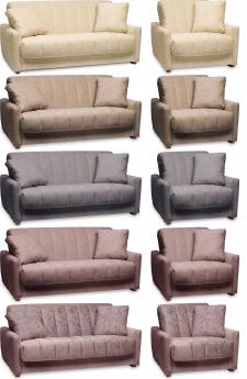 Изменение размеров и цвета диванов