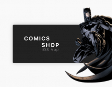 IOS App DC Comics Shop | Concept