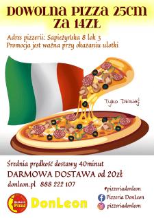 Дизайн листовки для пиццерии