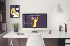 Дизайн страниц 404