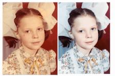 цветокоррекция и реставрация