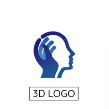 2D Logo -> Animated 3D Logo