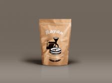 Логотип и этикетка для кофе Rayan