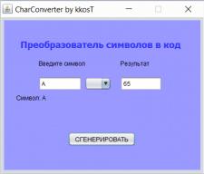 CharConverter