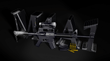 Американская штурмовая винтовка М4А1