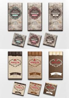 Упаковка шоколада ручной работы