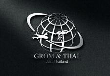 "Логотип ""Grom &Thai"""