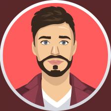 Векторный портрет (Hipster)