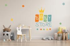 Логотип для дитячого магазину