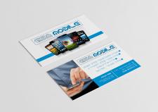Логотип и дизайн визитки для компании