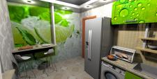 Двокімнатна квартира в НБ, 62 кв.м., кухня вид1