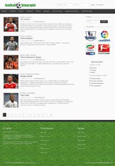 Футбольные биографии