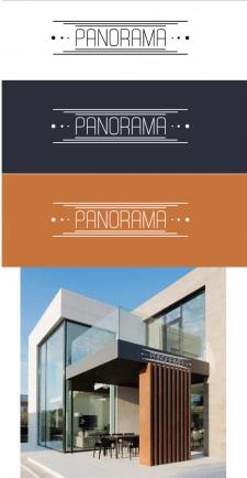 "логотип для ресторан&кальянна ""Panorama Trattoria"""